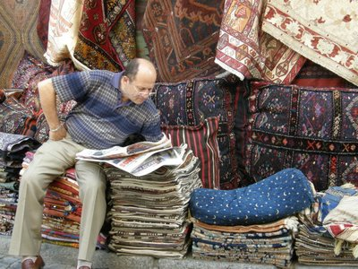 Chillin' wit' kilims