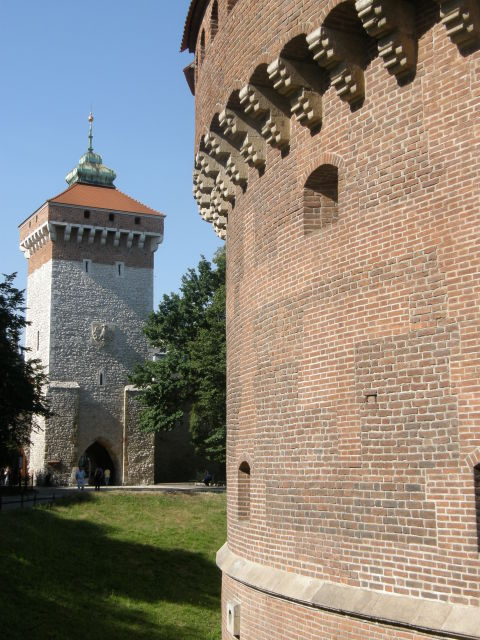 City walls, Wroclaw