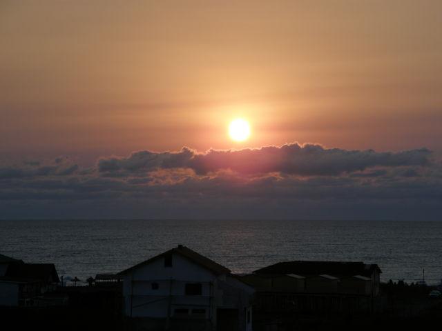 Sunrise over Black Sea