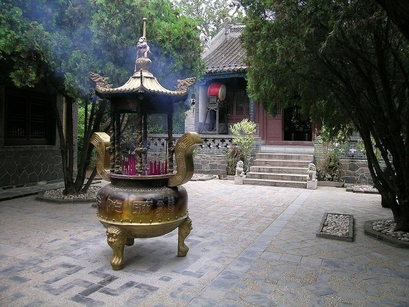Temple at Penglai