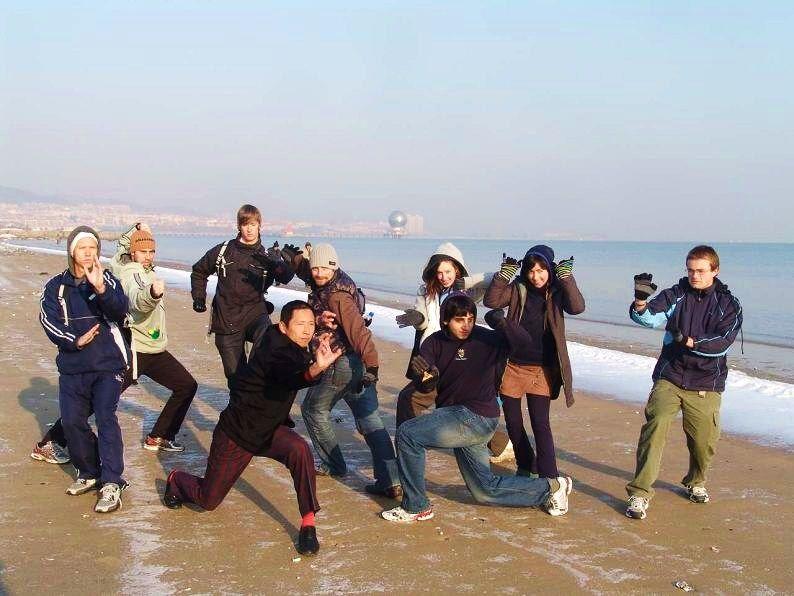 Beach posers