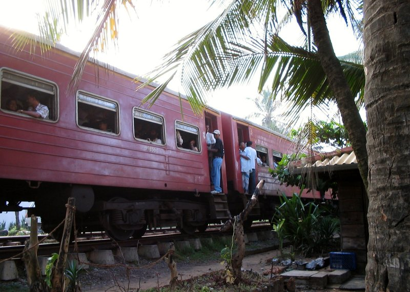 Morning Train in Galkissa