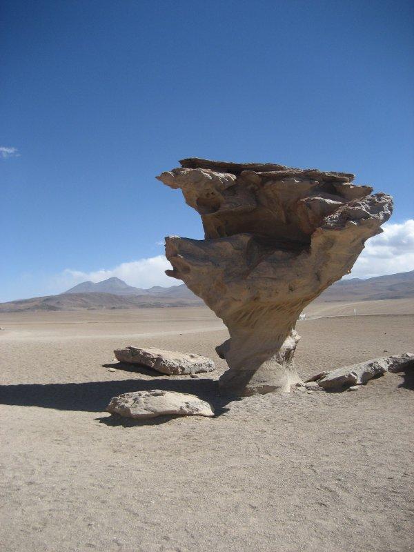 Lago de Piedras in Bolivia