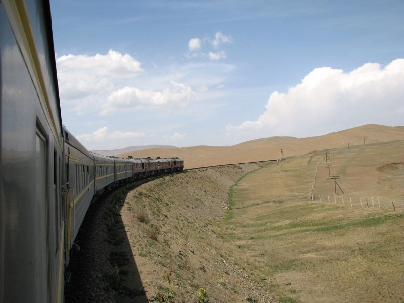 Round the Curve on Trans-Siberian