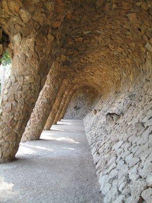 Gaudi's walkway