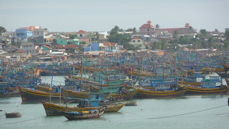Fishing Boats, Mui ne