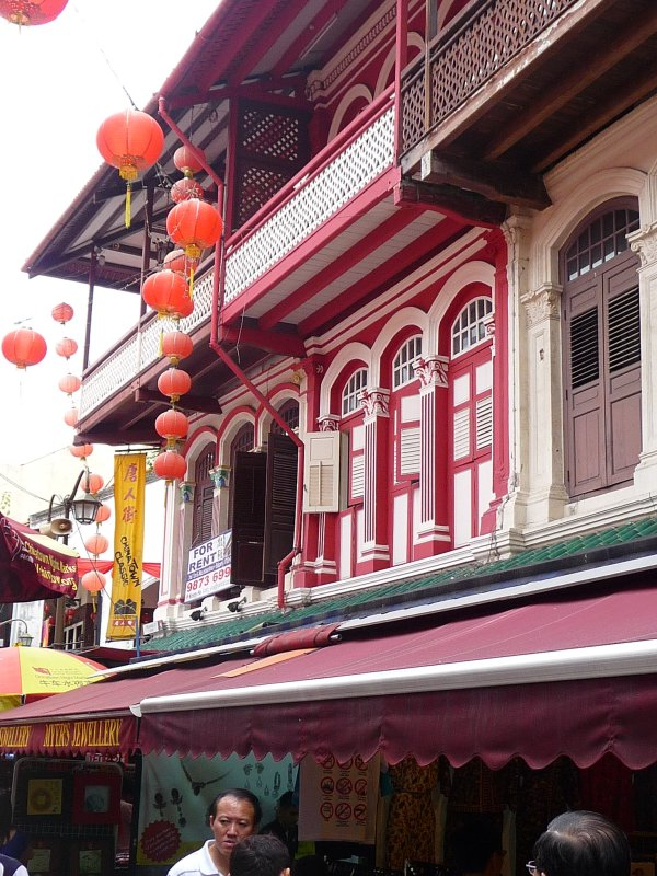 Chinatown central, Singapore
