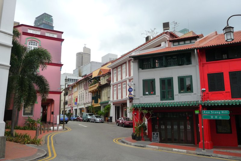 streets of Chinatown, Singapore