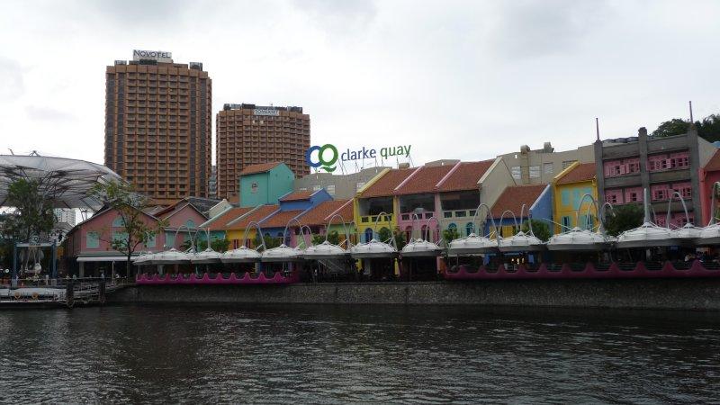 Clarke Quays, Singapore