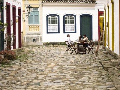 Paraty street scene