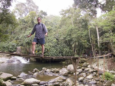 Hanging Bridge at Toboga Falls