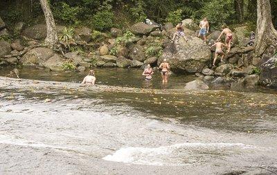 Sliding Rock at Toboga Falls