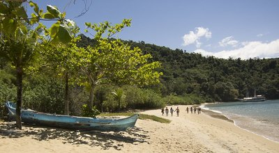 Beaches on Islands near Paraty