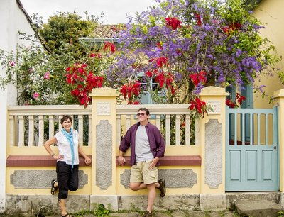 Joy and Pat in Paraty