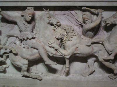 Sidon Sarcophagus with lion