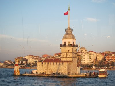 Maiden Tower in the Bosporus