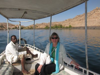 Boat to Philae Temple