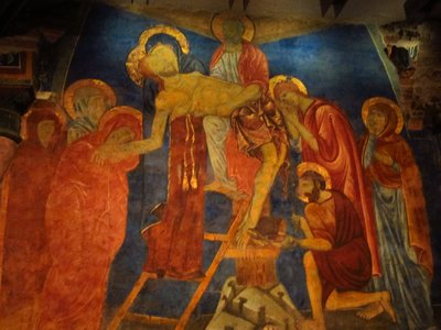 fresco of Siena Duomo