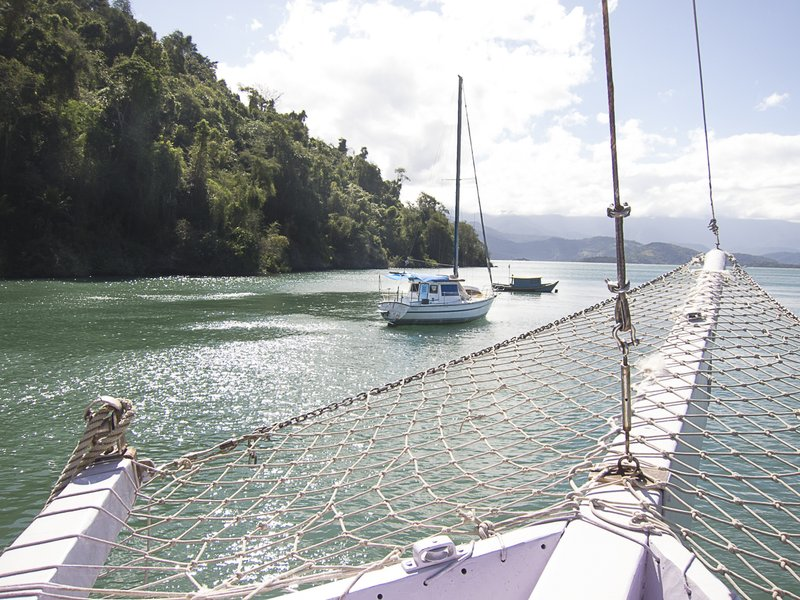 In bay near Paraty