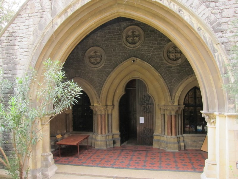 Entrance to Christ Church