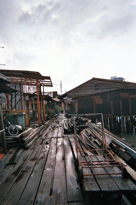chinese fishing village