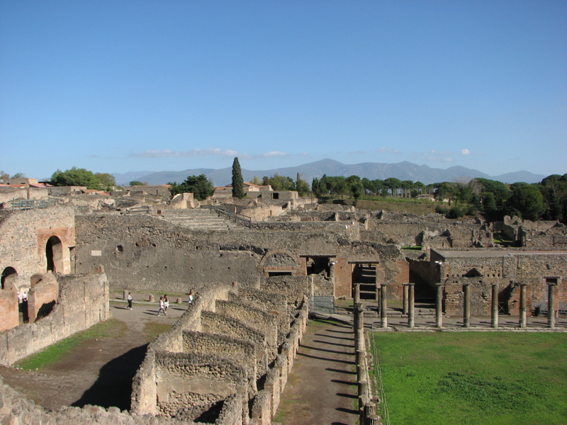 Gladiators' training area