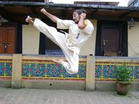 Flying Side Kick!