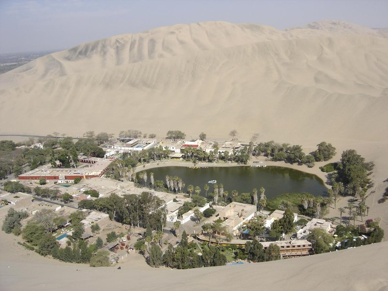 Sanddunes in Huacachina