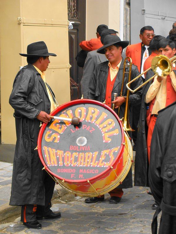 Parade in La Paz