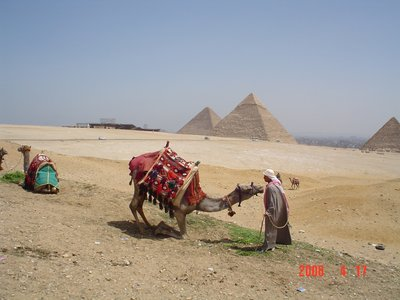 Pyramids at Giza