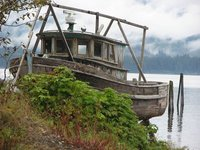 old boat - Hoonah Alaska