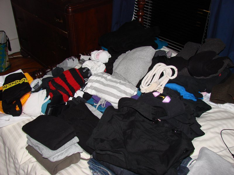 Stuff and a mess