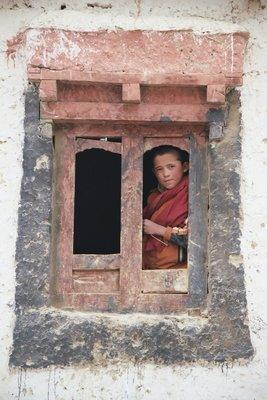 little monk in Lamayuru - Ladakh - India