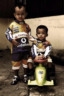 race boys