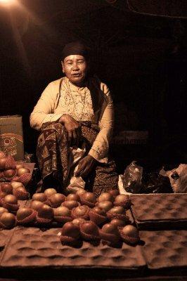 padang market women