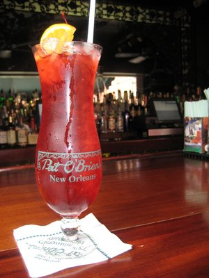 Hurricane at Pat O Briens