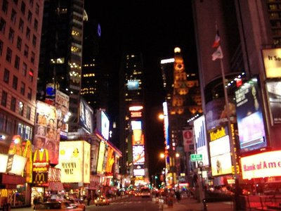 Times Square, Heart of New York City's Broadway Theatre District