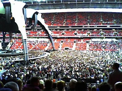 The above mentioned concert - U2 at Wembley