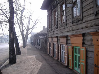 Irkutsk wooden architecture