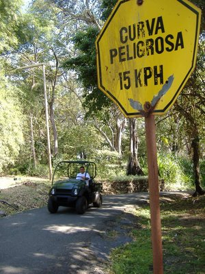 DANGER!  Rapid Golf Carts!