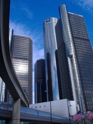 Renaissance Center, Detroit, USA