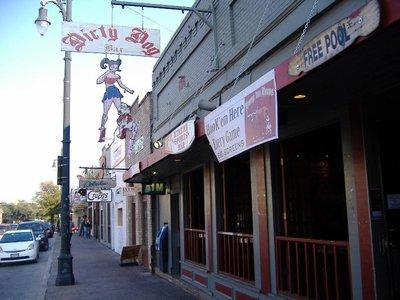 Dirty Dog Bar, Austin, Texas