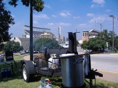 Tailgating in Austin, Texas