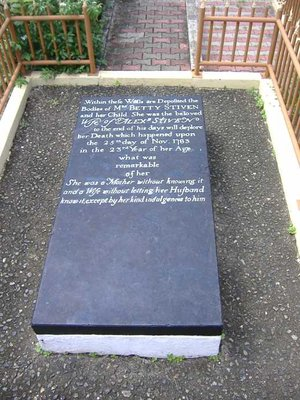 The mystery grave, Plymouth, Tobago