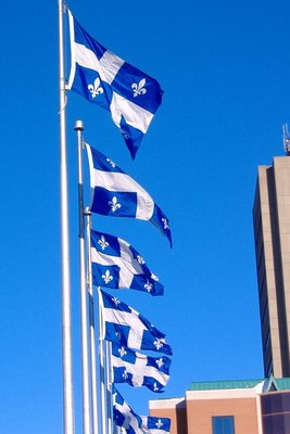 Quebec Flags, Quebec City