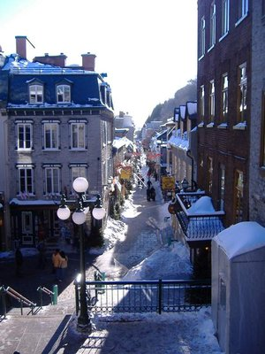 Shopping Street, Place Royale, Quebec City