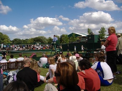 Lawn Seating at Wimbledon