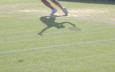 A Shadow of a Serve