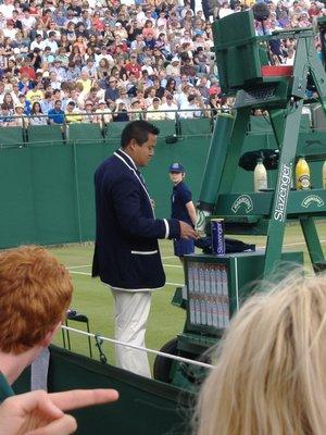The Chair Umpire, Wimbledon