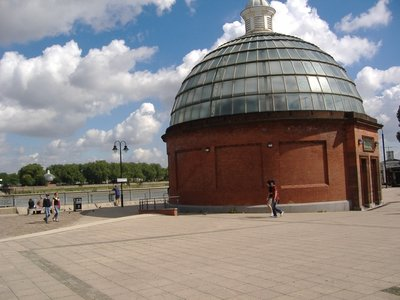 Greenwich Foot Tunnel South Entry